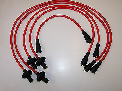 HT leads high performance 8mm red VW Beetle & Type 2 up to 1600cc aircooled