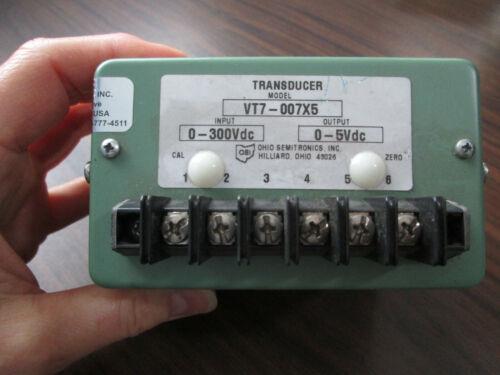 Ohio Semitronics VT7-007X5 Transducer