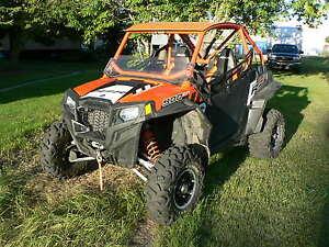 RZR 900 XP EPS Orange Madness