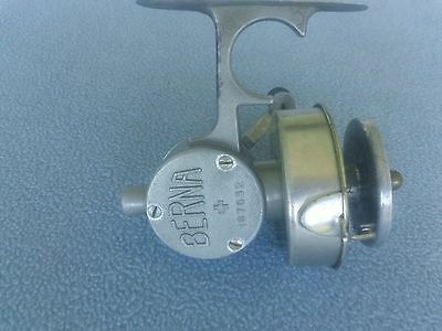 EXTREMELY RARE 1930'S-BERNA + 187632 SPINNING REEL -COSMETIC & MECHANICAL SOUND