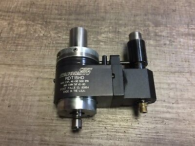 Nice Tapmatic Rdt15hd 6 - M3 Cap Tapping Head 1 Shank