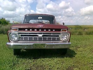 1966 Ford Mercury M100 F100 352 FE
