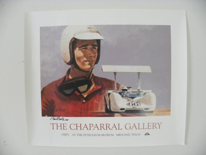 """""""THE CHAPARRAL GALLERY"""" POSTER SIGNED BY BILL NEALE – RARE"""