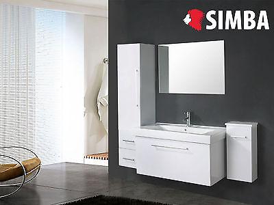 Muebles para baño - Cuarto de baño Espejo 2 unidad de culumn...