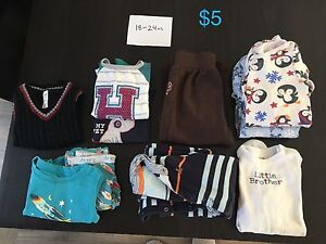 Baby Boy Clothing (1yr-Newborn)