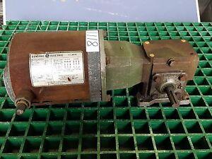 GENERAL ELECTRIC MOTOR W/OHIO GEAR BOX (8111)