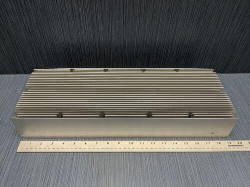 """Large Aluminum Heatsink 19"""" Long x 6 7/8"""" Wide x 3"""" Tall, 28 Fins, 15 lbs 12 oz."""