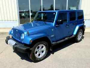 2015 Jeep Wrangler Unlimited Sahara 4x4 - Fully Loaded