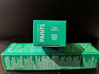 Wella Color Charm Paints Semi Permanent Hair Color Colour - Green Hair Paint