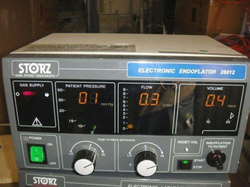 KARL STORZ  26012  ELECTRONIC ENDOFLATOR