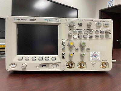 Agilent Dso6052a Color Digital Oscilloscope 500mhz 4gss 2mh
