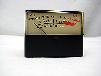 Vu Meter 2.25 H X 1.75w X 1.75d Inches - New Free Shipping