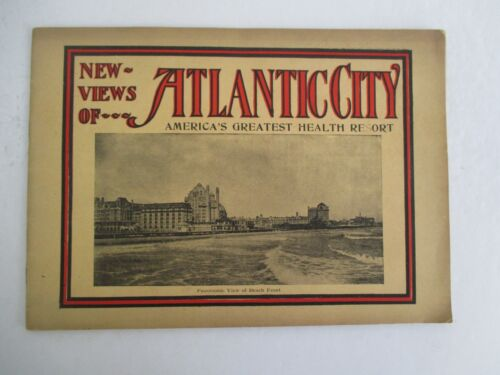 Vintage ATLANTIC CITY NJ Viewbook