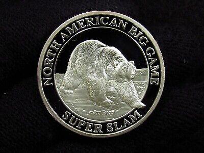 Polar Bear Game (North American Big Game Super Slam POLAR BEAR 1Oz Silver)