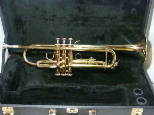 NICE BESSON  🎺STUDENT TRUMPET Refurbished with Hard Case EXTRAS!
