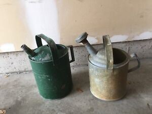 Vintage water cans