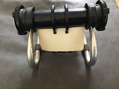 Vintage Rolodex Metal Bar Open Turning Spinning Rotary Card File