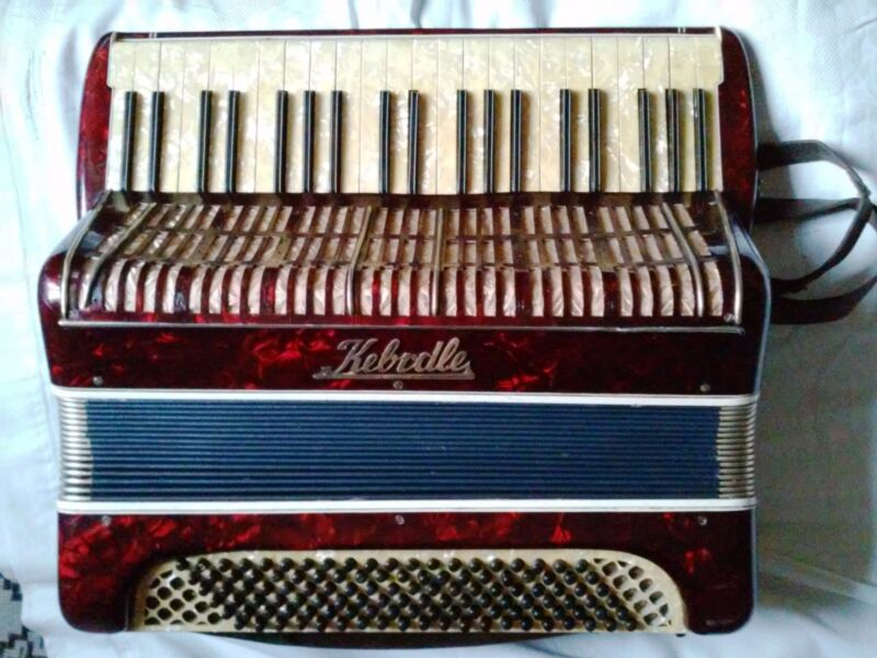 Accordion Kеbrdle Czechoslovakia 1930