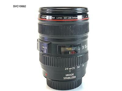 Canon EF 24-105mm f/4L IS USM AutoFocus Wide Angle Telephoto Zoom Lens  0344B002