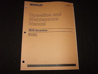 Cat Caterpillar 307c Excavator Operation Maintenance Manual