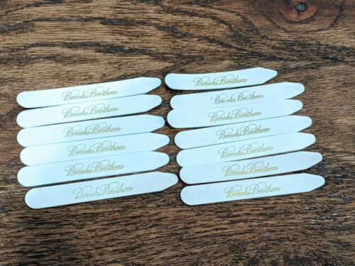 Lot of 13 Brooks Brothers Collar Stays For Dress Shirts