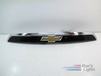 2016 - 2017 Chevy Equinox Rear Trunk Molding w/ CAMERA OEM - BLACK - Pre-owned