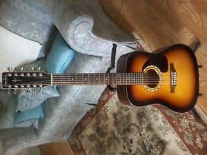 simon & patrick sunburst 12 string