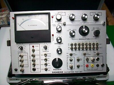 Siemens Distortion Test Set Model 531 Pa