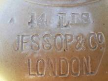 earthenware stoneware container jar bottle  JESSOP & Co LONDON Grange Charles Sturt Area Preview