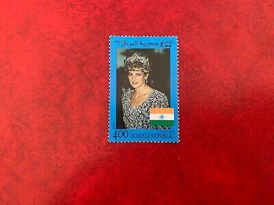 SOMALIA 1998 MNH PRINCESS DIANA MEMORIAM & FLAG OF INDIA