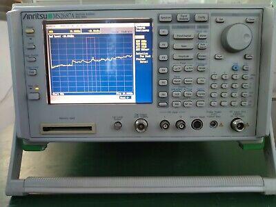 Anritsu Ms2687a Spectrum Analyzer 9khz To 30ghz Wopt. 02 02 18 21