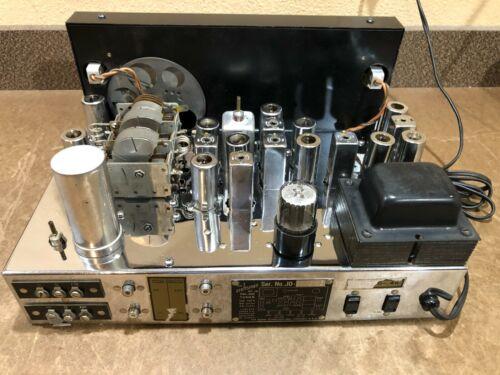 BEAUTIFUL CRAFTSMEN RC-10 FM TUBE TUNER PREAMP PRE AMPLIFIER CHROME - VIDEO DEMO