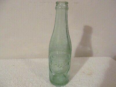 VINTAGE DR PEPPER SODA POP BEVERAGE BOTTLE GLASS 6 1//2 OZ 10-2-4 8 1//4 IN TALL