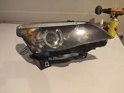 2008 BMW 535i headlight driver side - xenon