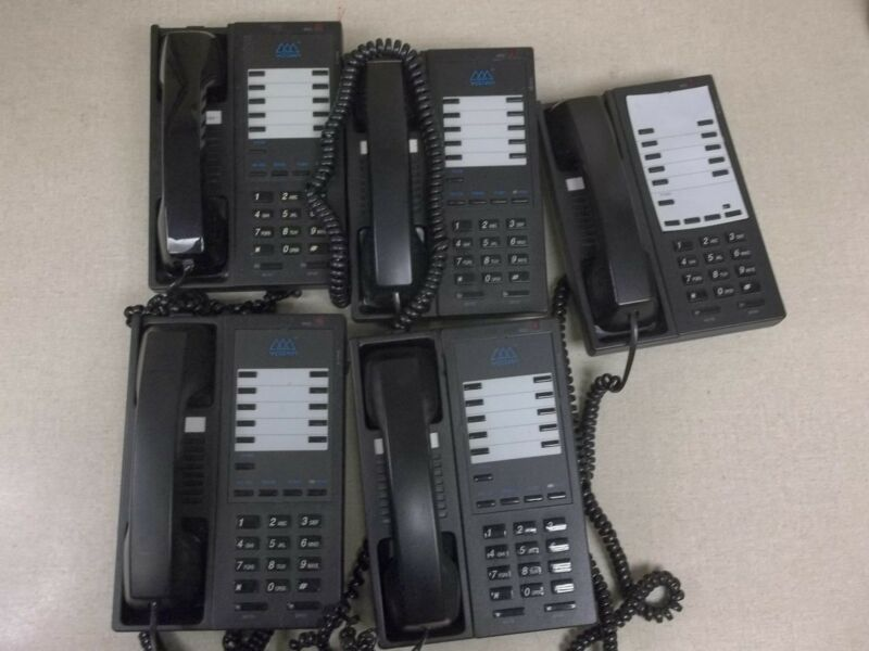 Lot of 5 Vodavi Business Office Phones, Single Line 2703-00 *FREE SHIPPING*