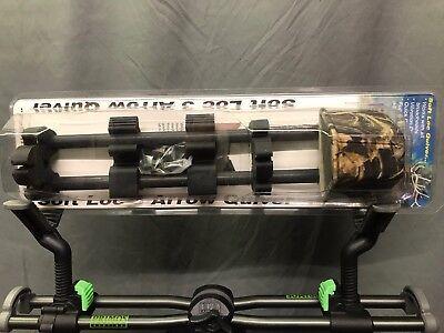 New Alpine Archery Soft Loc 3 Arrow Adjustable Quiver Advantage Max-4 Camo Alpine Archery Alpine Quiver