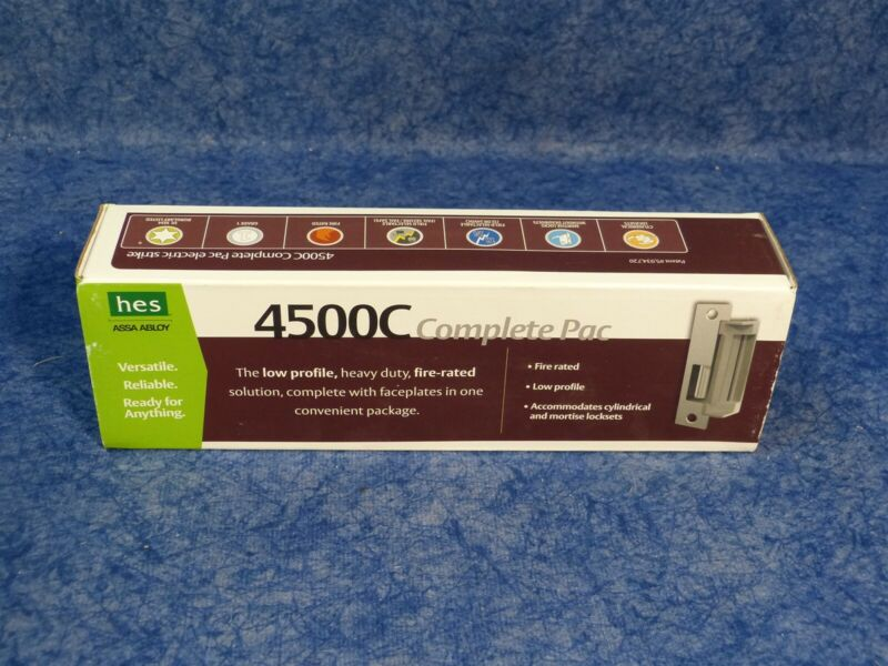 Assa Abloy HES Electric Strike Pack 4500C -12/24D-630 450030601