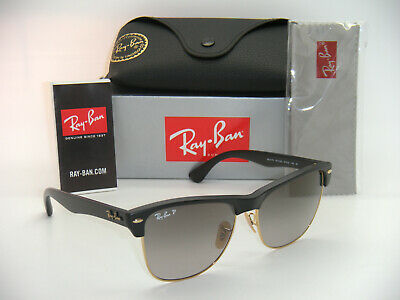 Ray-Ban Clubmaster Oversized RB 4175 877/M3 57mm Black / Grey Gradient (Ray Ban 4175 Clubmaster Oversized)