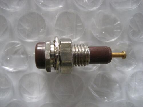 3 x Brown Tip Test Jack Voltage - Audio Signal - 1960s!