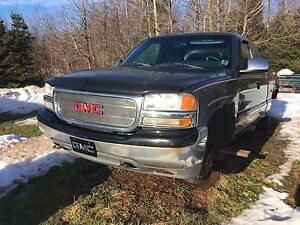 2000 gmc 4x4 parts junking