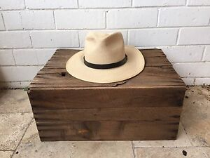Akubra Straw Hat 'Balmoral' - New Bronte Eastern Suburbs Preview