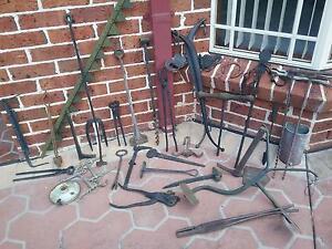 Old Blacksmith Items Bolwarra Maitland Area Preview
