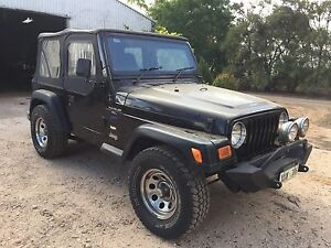 1997 Jeep Wrangler soft top swaps 4x4 Murray Bridge Murray Bridge Area Preview