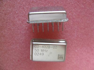 Vectron Crystal Oscillator 50 Mhz Mpn Co-402b-0d50.0mhz