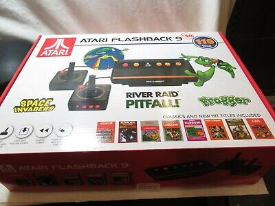 Atari Flashback 9 Retro Console 110 Built-in Games 2 Controllers, AV Cable, USB