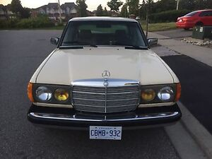 1984 Mercedes Benz Turbo Diesel 300D