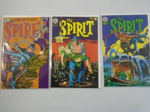 Spirit run #1-3 8.0 VF (1983 Kitchen Sink)
