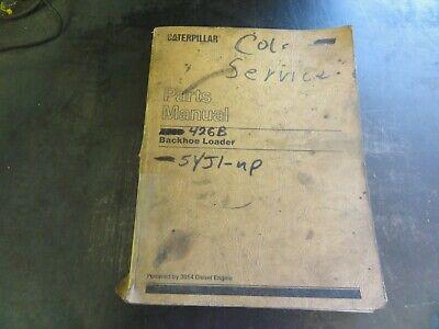 Caterpillar Cat 426b Backhoe Loader Parts Manual  Sebp1981