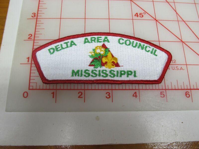 Delta Area Council CSP collectible PB patch (o34)