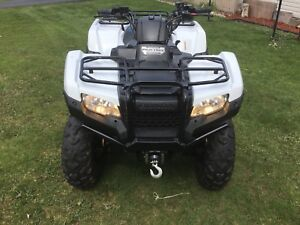 2016 Honda TRX420DCT IRS LOW KMS